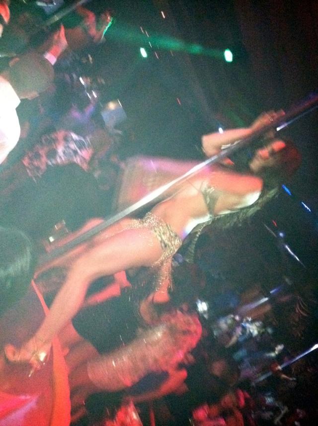 Partying at Surrender at Encore - Las Vegas, NV - Mar 6, 2011