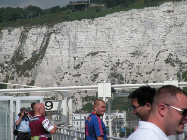 View from aboard the Pride of Canterbury - Dover, England - Jun 14, 2011