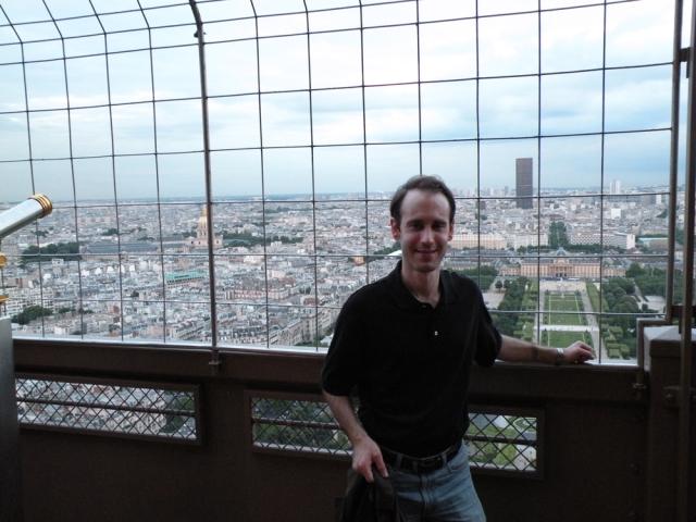 Me at the Eiffel Tower - Paris, France - Jun 14, 2011