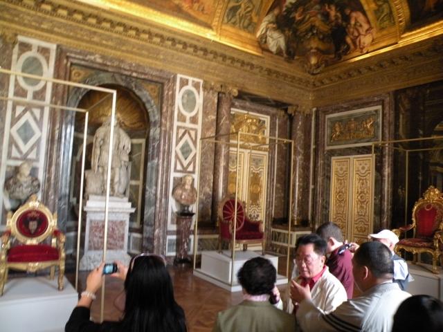Palace of Versailles - Versailles, France - Jun 16, 2011