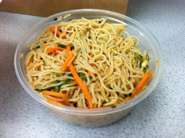 Chili Sesame Noodle Salad from Rickshaw Dumpling - New York, NY - Jan 26, 2012